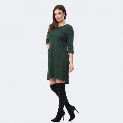 Rochie de zi verde Dark Green